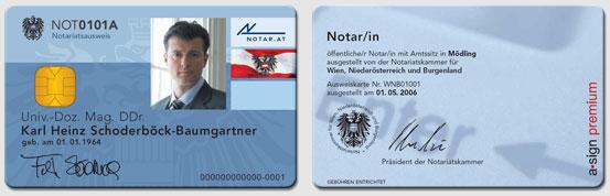 Notarausweis