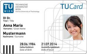 Studentenausweis der TU Wien