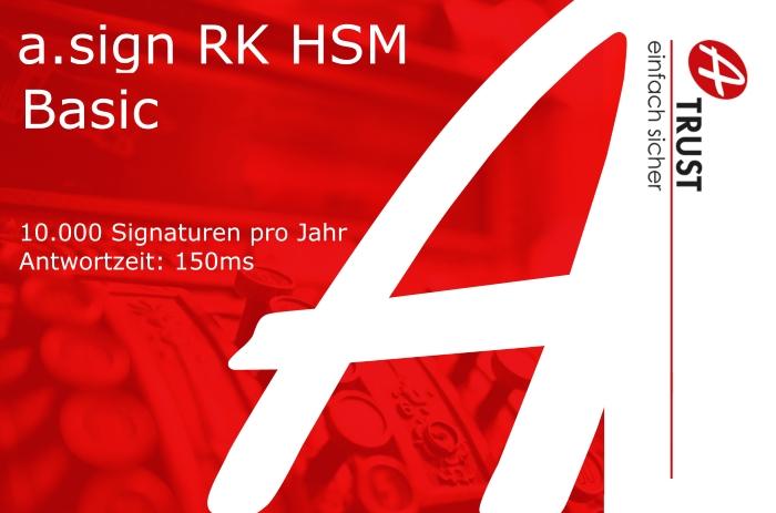 Bild von a.sign RK HSM Basic - 5 Jahre