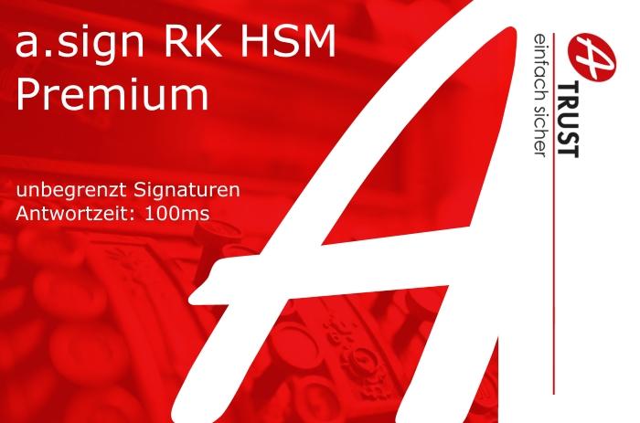 Bild von a.sign RK HSM Premium - 5 Jahre